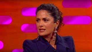 Salma Hayek Had a Trump Piñata - The Graham Norton Show