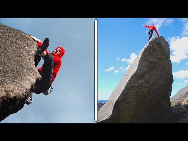 Highball 7C Boulder, What A Line!!