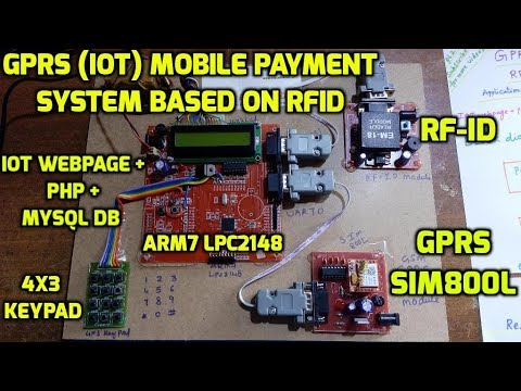 GPRS (IoT) Mobile Payment System Based on RFID for Schools / Colleges / Employees