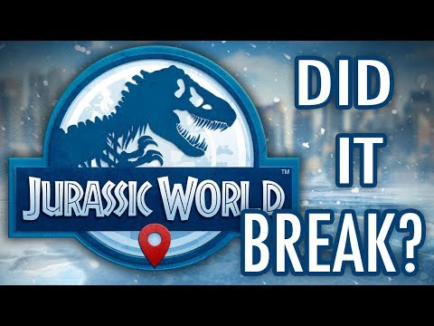 Did Jurassic World Just Break??? - Jurassic World Alive | Ep47 ( Jurassic GO )