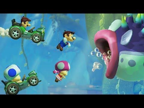 Super Mario Maker 2 - Online Multiplayer Co-op #01