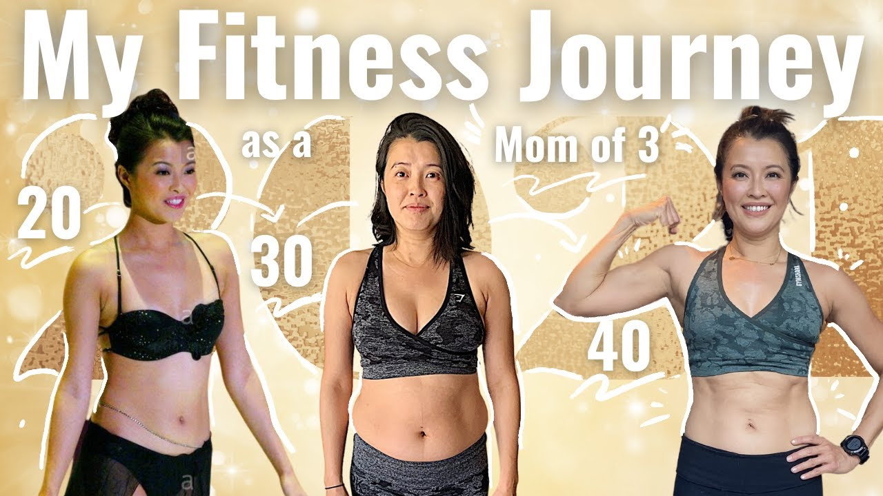 MOM FITNESS JOURNEY   MOM OF 3    NO DIET   NO RESTRICTION  