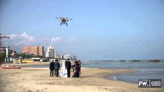 Drone matrimonio Pescara, FotoWireless - Antonio&Federica Wedding Backstage
