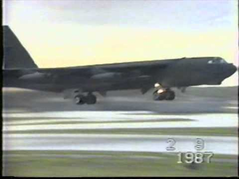 B-52G 16 ship MITO Guam '87