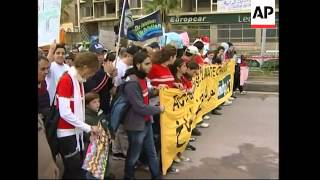 Rally to draw attention to environment and climate change
