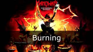 Watch Manowar Burning video