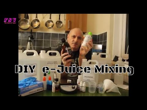 DIY e-Juice Mixing.  Turkish Black Tobacco and American Red Rum Tobacco