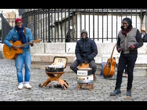 PRESTEEJ STREET MUSIC /// PARIS MONTMARTRE 2017