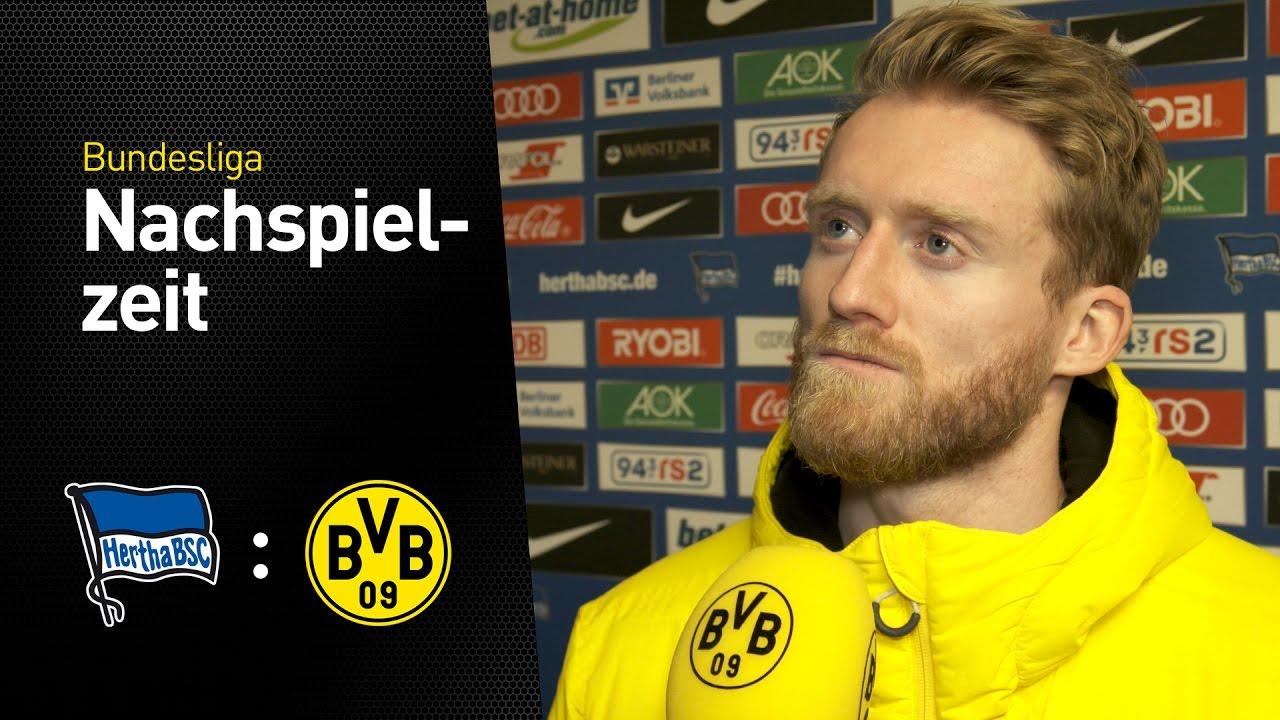 Interview mit André Schürrle | Hertha BSC - BVB 2:1