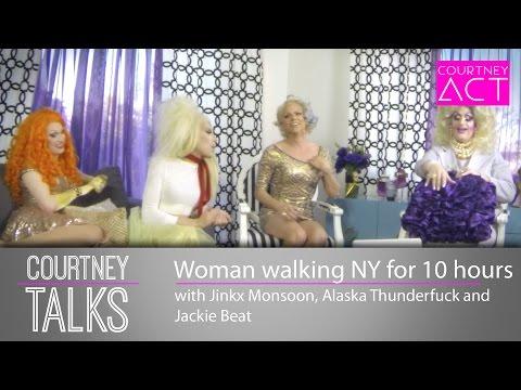 Jinkx, Alaska and Jackie Beat - Courtney Talks