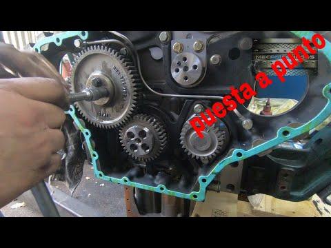armar motor volvo mwm  (puesta a punto de la  distribucin)