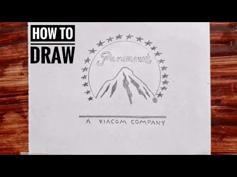how to draw a company logo