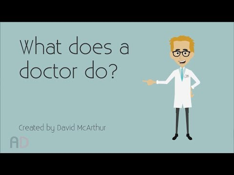 What Does A Doctor Do? Pre-School Educational Video