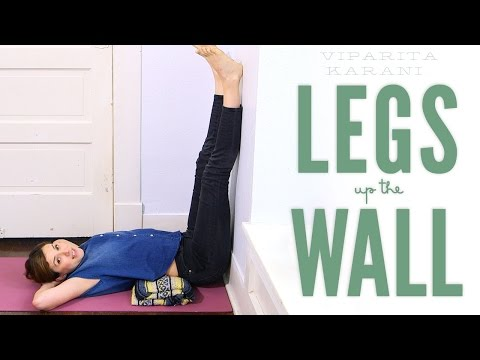 Legs Up The Wall - Foundations of Yoga