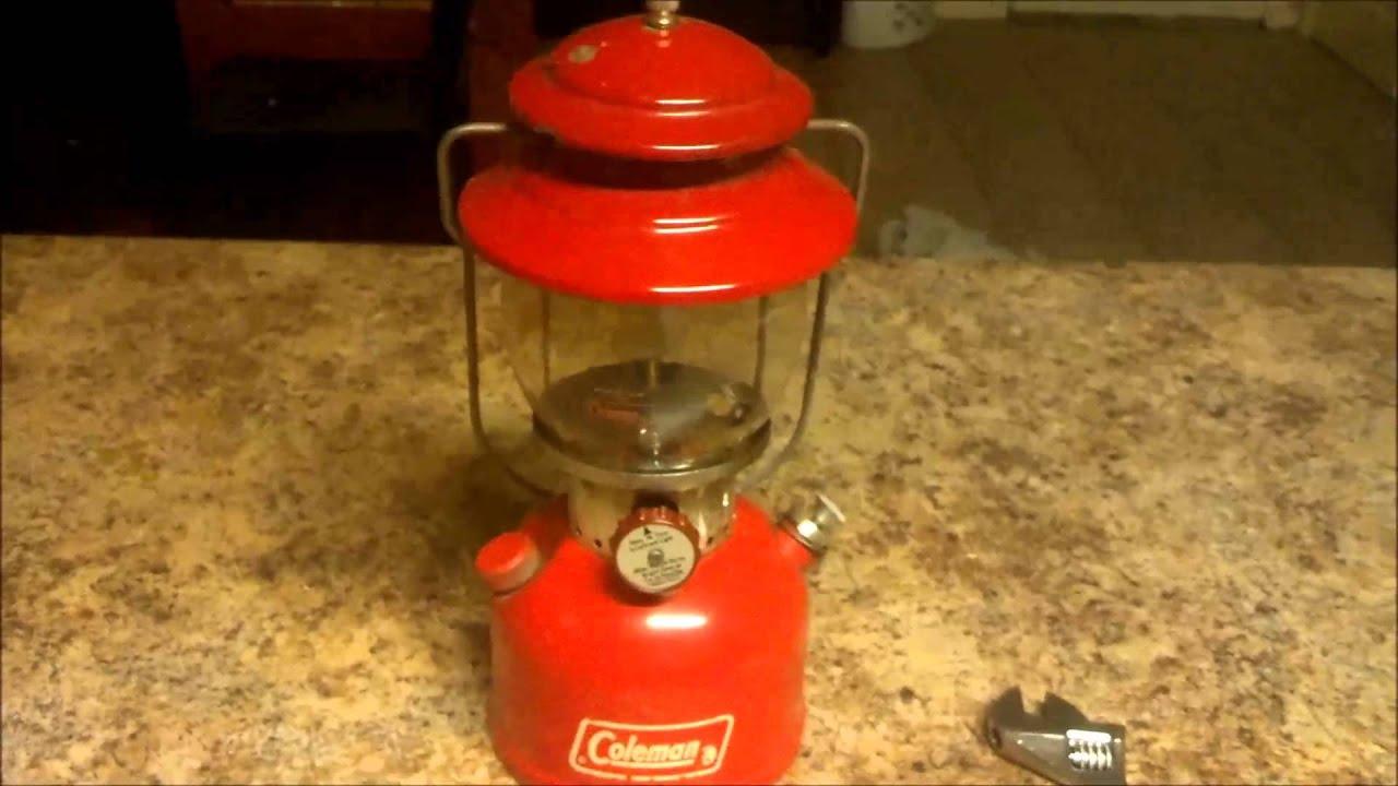Rebuild of a coleman 200a lantern