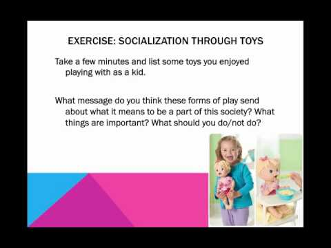 Intro to Soc: Agents of Socialization!