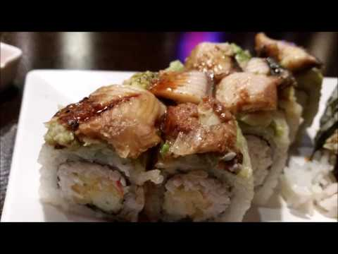 Crazy Sushi, How to Eat Sushi, Awesome Food Video, VLOG, Japanese Food
