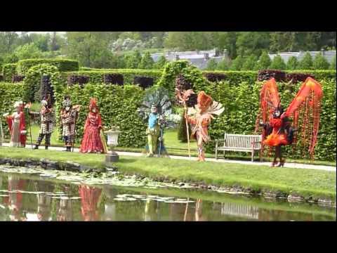 Video les costumes de venise aux jardins d 39 annevoie mai for Les compagnons des jardins