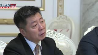 Slaq am Վարչապետն ընդունել է չինական «GSAFETY» ընկերության պատվիրակությանը