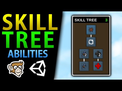 Simple Skill Tree In Unity (Unlock Abilities, Talents)