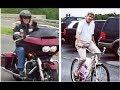 Can You Spot The Difference? Rex Tillerson Rides Harley-Davidson, John Kerry Rides Schwinn Bike