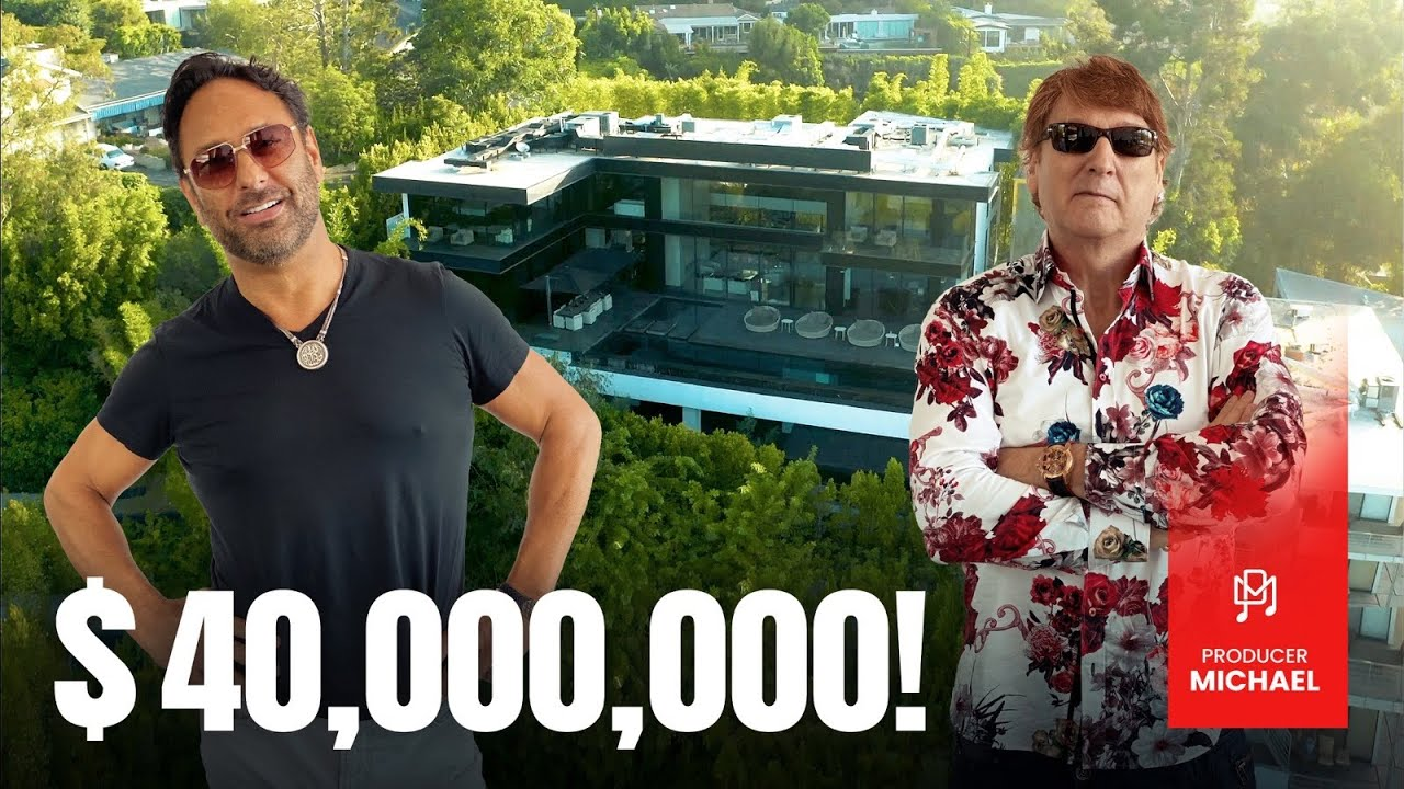 OWNER OF 'THE ONE' - INSIDE HIS $40,000,000 HOLLYWOOD HOME!