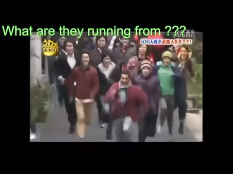 Best Japanese Crowd Running Pranks | Running Prank Compilation 2017