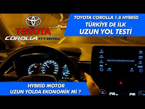Toyota Corolla Hybrid Uzun yol yakıt tüketimi | Yeni corolla | Yeni corolla hybrid | Corolla E-CVT