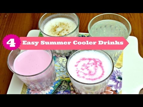 4 Best & Easy Cooling Drinks for Summer, Easy Summer Drinks