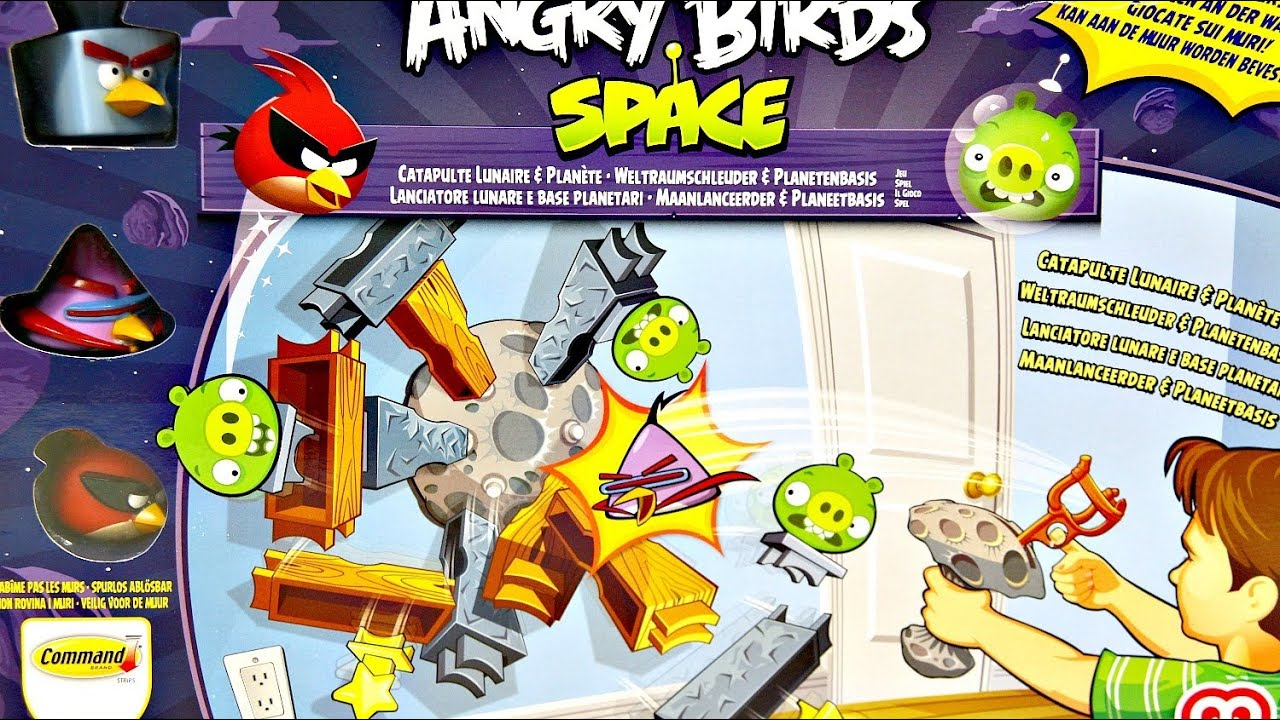 angry birds space lunar launcher - photo #1
