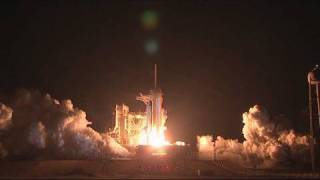 STS-130 Launch in HD - The last shuttle launch at night - 02/08/2010
