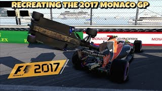 F1 2017 GAME: RECREATING THE 2017 MONACO GP
