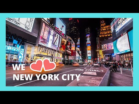 NEW YORK CITY, walking around the famous TIMES SQUARE area (USA)