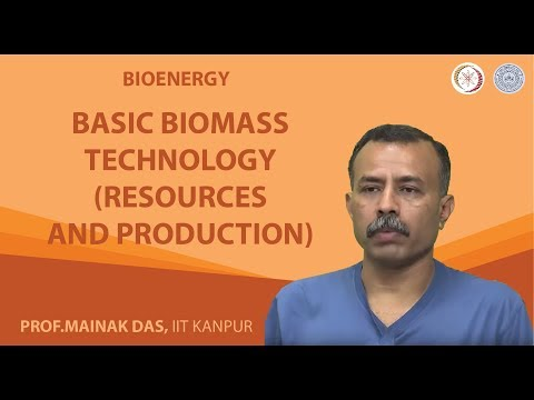 Basic Biomass Technology (Resources and Production)
