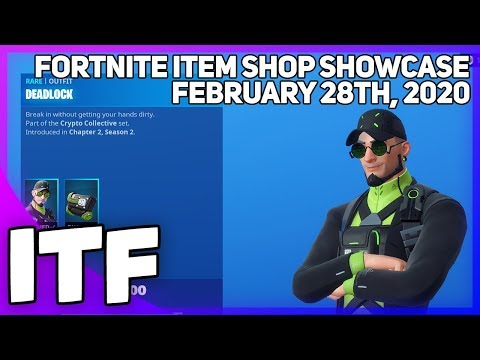 Fortnite Item Shop *NEW* CRYPTO COLLECTIVE SET! [February 28th, 2020] (Fortnite Battle Royale)