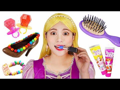 Edible Lipstick Candy Chocolate Makeup DONA Mukbang