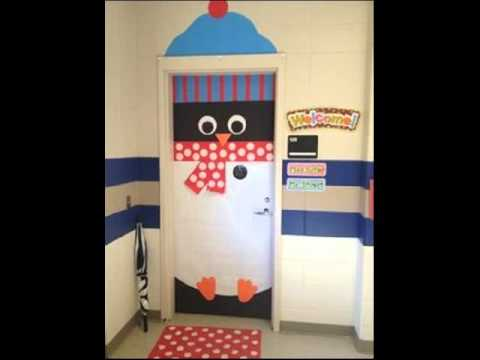 Best Christmas Door Decoration Ideas & Best Christmas Door Decoration Ideas - YouTube