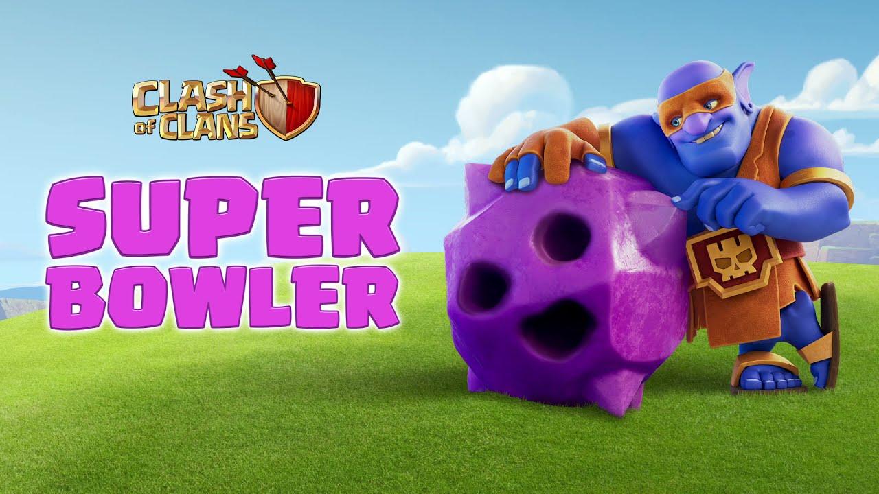 Download SUPER BOWLER Enters The Clash Bowling Lane! (Clash of Clans Official)