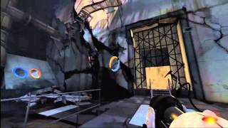 Portal 2 Easter eggs - Vitrified Test Chamber Doors