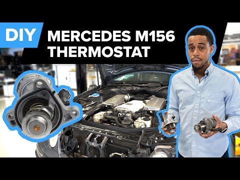 Mercedes-AMG M156 Thermostat Replacement DIY (C63 AMG, E63 AMG, SLS AMG, S63 AMG, CL63 AMG & More)