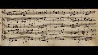 Il Giustino: 'Vedrò con mio diletto' / VIVALDI RV 717 (Autograph score)