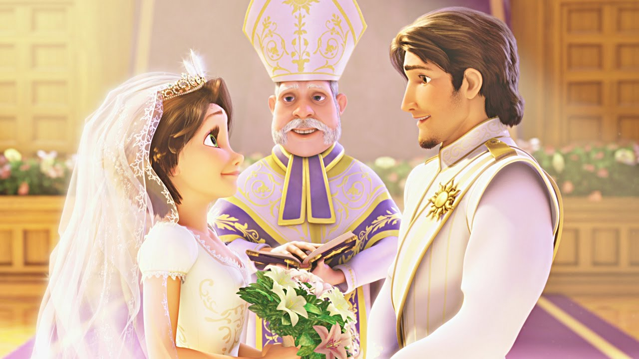 Disney Cars 3 Wallpaper >> Rapunzel Wedding Princess | Disney Game HD - With Friends Elsa Disney Queen & Ana Princess - YouTube