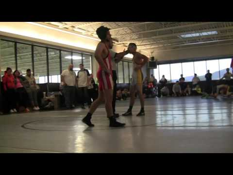 Granite School District Wrestling Tournament 2015 JV | 132 Granger vs Kearns