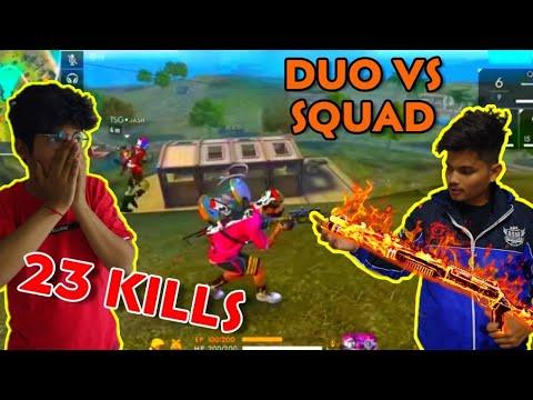 TSG JASH + TSG RITIK  || BEST DUO VS SQUAD GAME || OP 23 KILLS BOOYAH || LIVE REACTION
