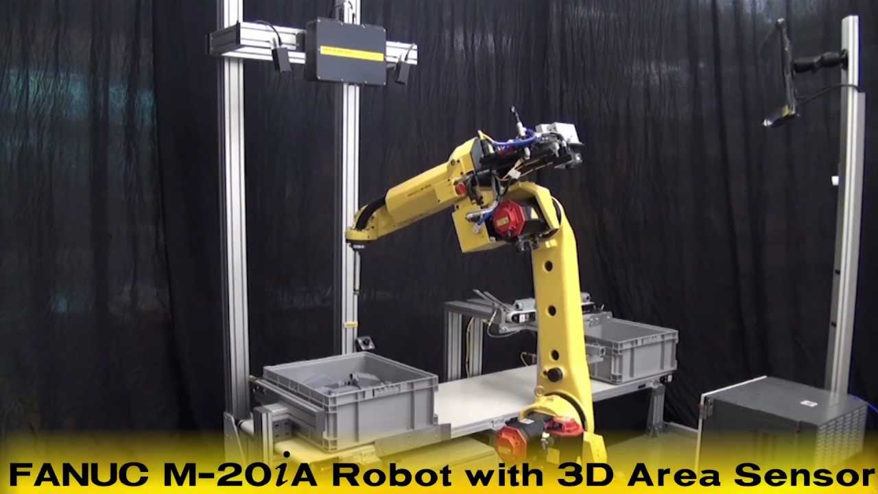 Fanuc Bin Picking Robot With New Irvision 3d Area Sensor
