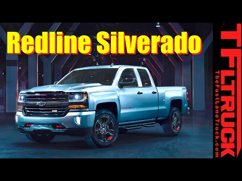 2017 Chevy Silverado and Colorado Redline Editions: Everything You Ever Wanted to Know