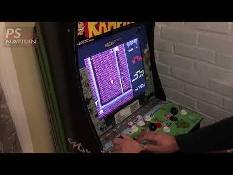 Arcade1Up Rampage Cabinet Closer Look from PJFJosh