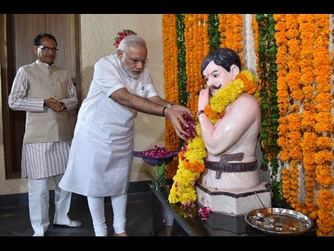 PM pays tribute to Chandrashekhar Azad at his birthplace, attends exhibition on freedom struggle