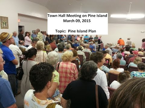 Pine Island Town Hall Meeting March 09, 2015 PI Plan