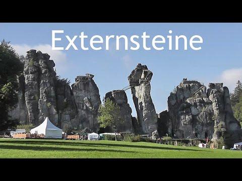 GERMANY: 'Externsteine' rock pillars - Teutoburg Forest [HD]